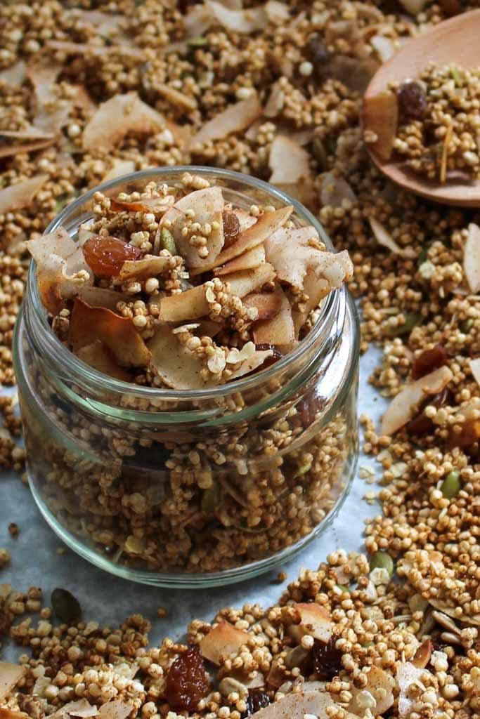 Delicious Gluten Free Granola Recipe A Is For Apple Au